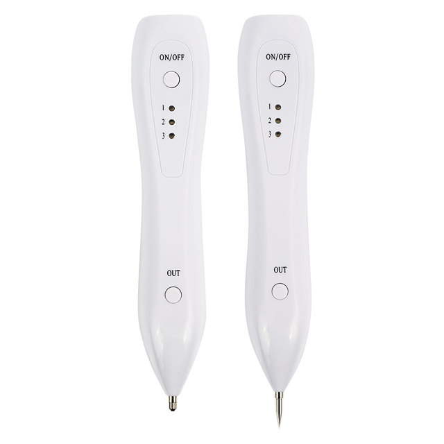 Mole Pen Beauty Instrument Laser Freckle Removal Skin Mole Dark Spot Remover for Face Wart Tag Tattoo Removal Pen Tool Machine
