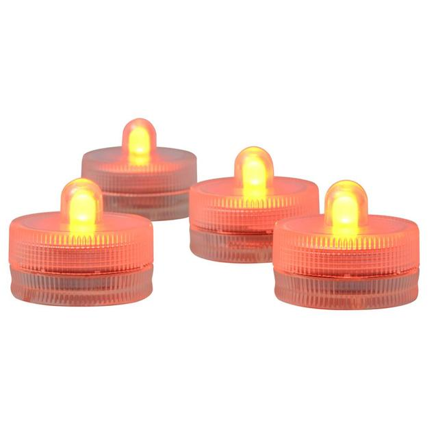 12pcs/Lot CR2032 Battery Operated Mini LED Party Light Waterproof Submersible LED Floralyte Candle Tea Light For Wedding Party