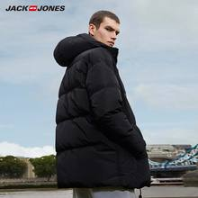 JackJones Men's Winter Hooded Duck Down Jacket Male Casual fashion Coat 2019 Brand New Menswear 218312531
