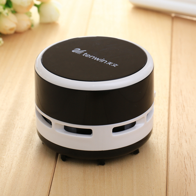 Cute Mini Desk Table Dust Keyboard Dust Vacuum Cleaner Sweeper Unique Small Vacuum Hand Held Sweeper For Home Office