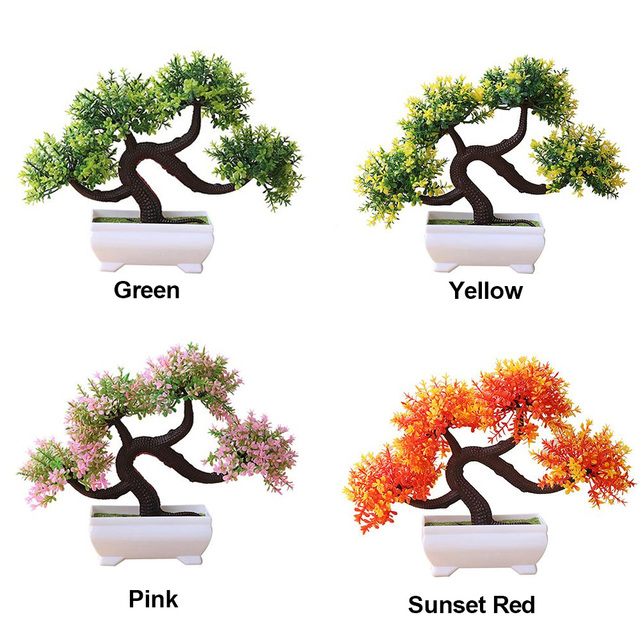 Artificial Plant Simulation Flower Simulated Potted Plants Garden Home Decor Lightweight Fashion Fake Plant Dragon Beard Tree