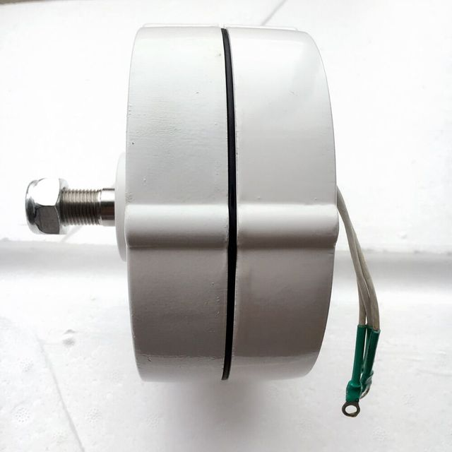 3 phase 12v 24vAC 200Watts Permanent Magnet Synchronous AC Alternator for DIY your own 100W 200W Wind turbine Design