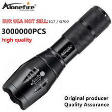5000LM T6 LED Zoomable Flashlight Waterproof Torch Charging Outdoor Light Lamp