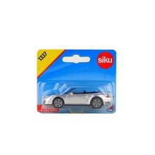 SIKU 1337/Diecast Metal Toy Model/1:55 Scale/911 Turbo Cabrio Convertible Super Sport Car/Gift For Children/Education/Collection