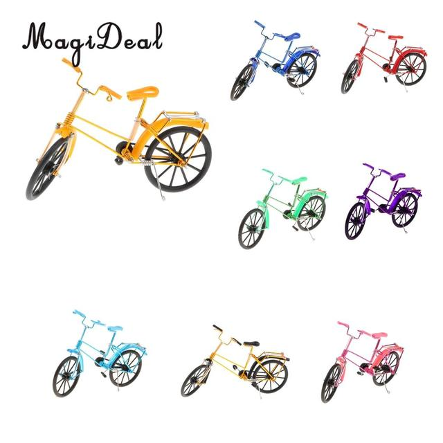 MagiDeal Retro Handicraft - Vintage Iron Bike Model Handmade Iron Bicycle Desktop Decoration Souvenirs Gift
