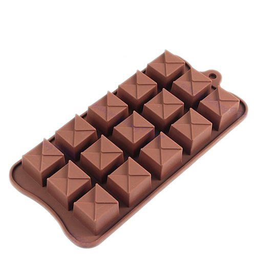 Free shipping Square Shape Silicone Mold Cake Cookie Chocolate Candy Jelly Baking Mold Fondant Cake Decorating Tools