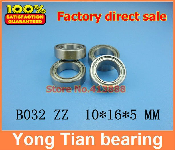 High quality model differential bearing HPI supporting SAVAGE MR1016 B032ZZ B032-2RS 10*16*5 mm ( non-standard bearings )