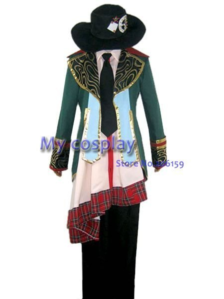 Wonderful Wonder World Cosplay Costume For Men's Cosplay  Halloween Costumes Party Costumes  Men's  Clothes-- Freeshipping