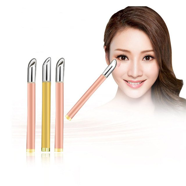 Eyes Pen Stick Wrinkle Removal Anti-aging Galvanic Wand Anions Massage Electric Import Face Eye Wrinkle Pouch Dark Circle Care