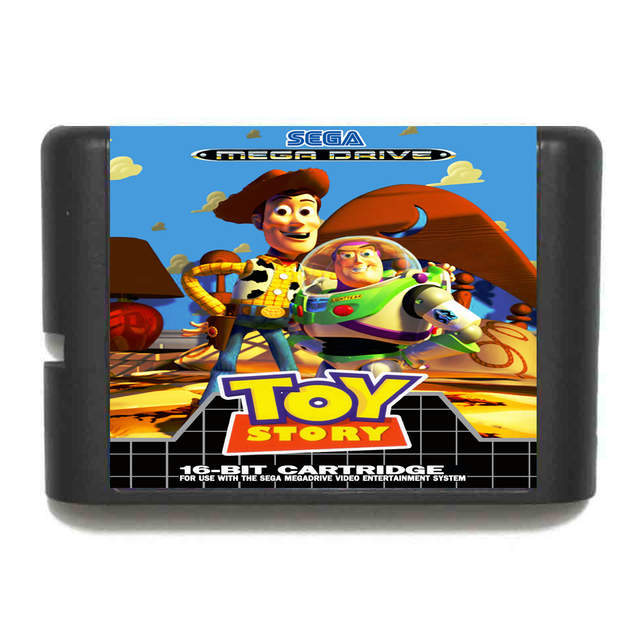 Toy Story NTSC-USA 16 bit MD Game Card For Sega Mega Drive For Genesis