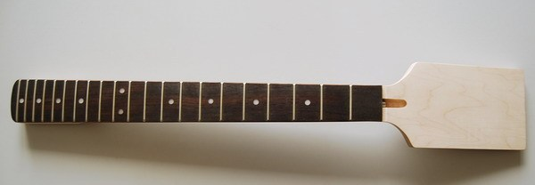 New High Quality Unfinished electric guitar neck    Solid wood   fingerboard NEW model 1pcs #3