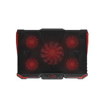 Professional External Laptop Cooler Pad 12-17 Inch With 5 Fans 2 USB Port Slide-Proof Stand Notebook Cooling Fan Ice Devil 4