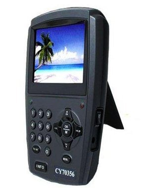 """Free shipping via EMS 3.5"""" LCD portable Digital Satellite Finder CY 70356 Signal Finder Meter"""
