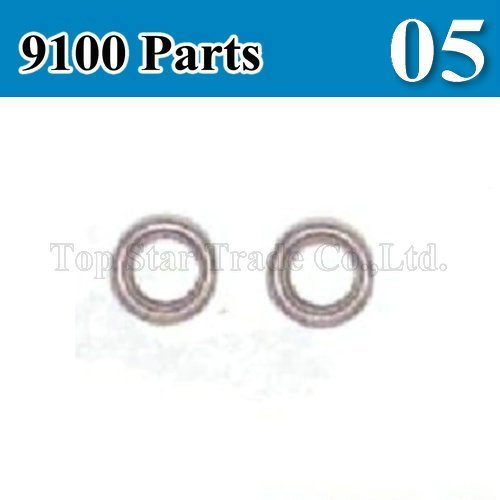 Remote control helicopter parts/rc helicopter DH 9100 spare parts/ 9100 bearing/9100-05