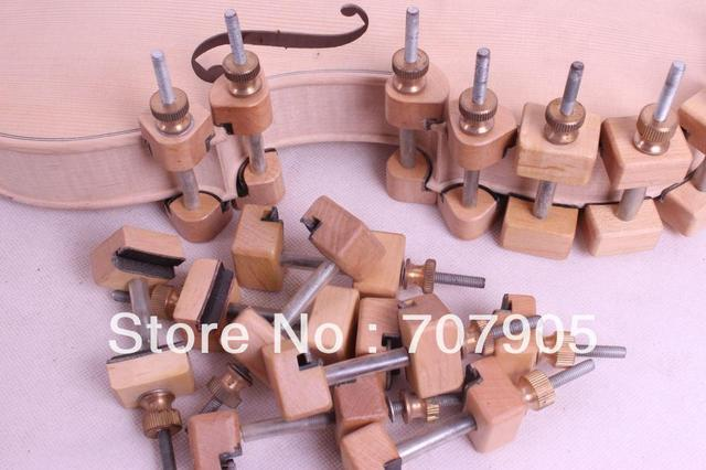 Violin Clamps tools Clamp Repair Violin Tool Tuthier Violin Maker 32 pcs #Q25
