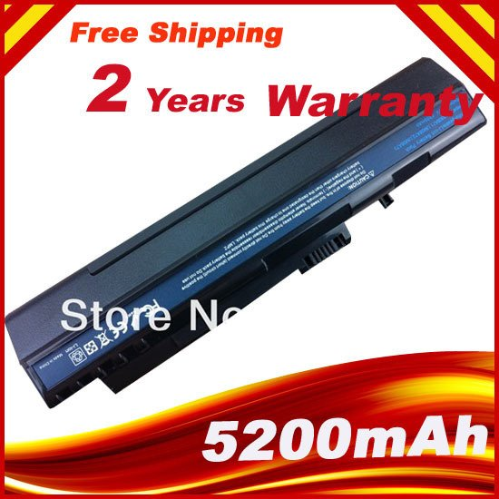 Laptop Battery For Acer Aspire One ZG5 A110 A150 D210 D150 D250 UM08A32 UM08A31 UM08A51 UM08A52 UM08A71 UM08A72 UM08A73