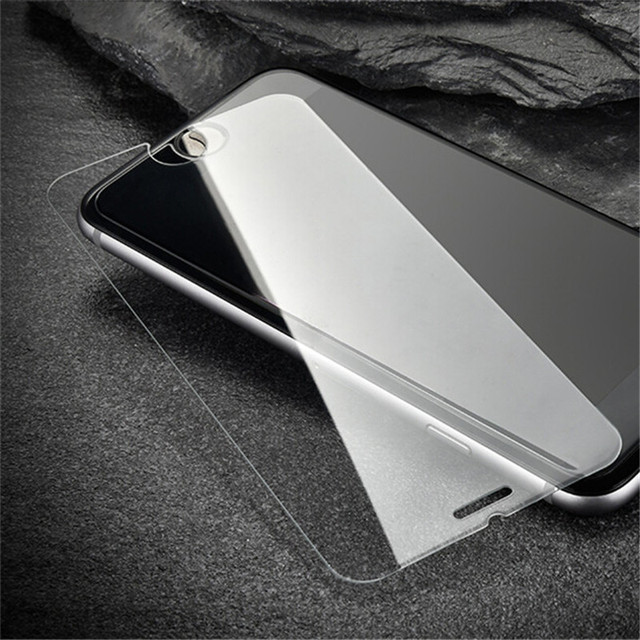 9H Ultra-thin 2.5D Tempered glass for iphone 6 6S X screen protector glass on the for iPhone 5s 6 6plus 7plus 8 protective film