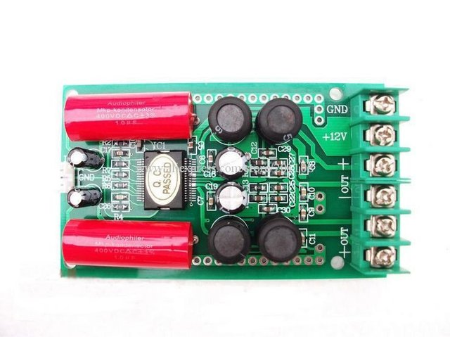 F475A DIY car AMP Board TA2024 Digital Amplifier board