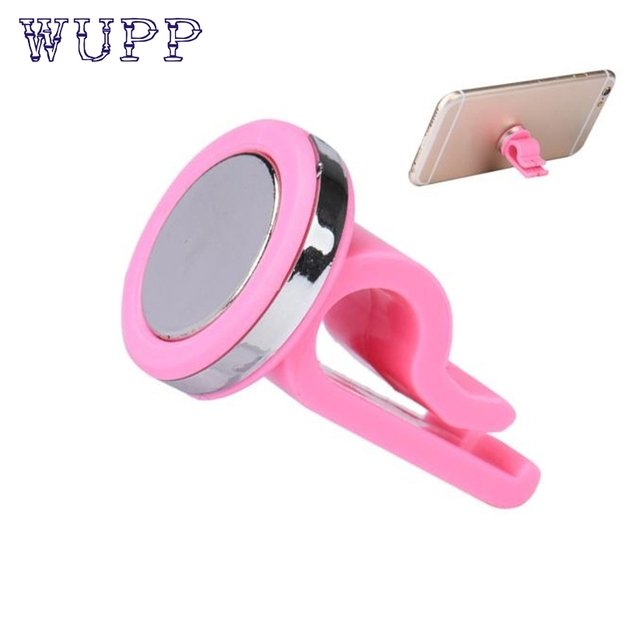 Car-styling wupp GPS Holder Car Air Vent Phone Holder Mount Stand Magnetic for iPhone Phone GPS td07 dropship