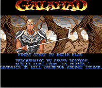 Galahad 16 bit MD Game Card For Sega Mega Drive For Genesis