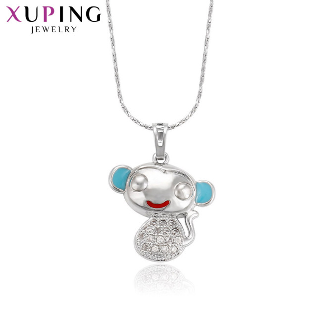 Xuping Luxury Fashion Pendant Animal Shaped Rhodium Color Plated Jewelry for Women Mother's Day Gift M38-30119
