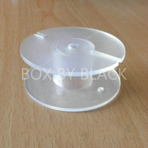 30PCS/LOT 56*19*23mm Plastic Bobbin Wire Coil Former for DIY Speaker Crossover Inductor New