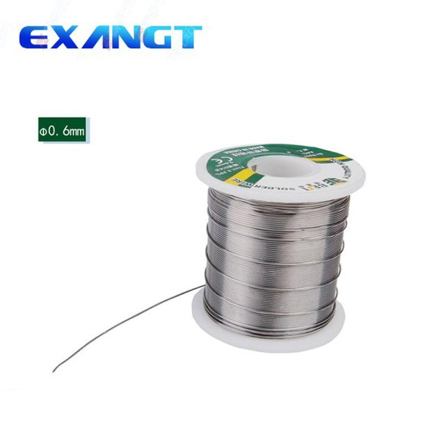 HIGH QUALITY Soldering Tin Wire BEST 0.6mm 500g 60/40 Tin Lead Tin Wire Melt Rosin Core BESTSolder Soldering Wire Roll