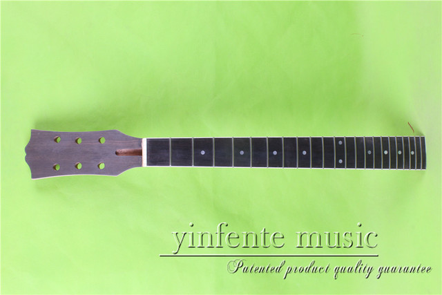 "L-00160 # 24.75""    Electric guitar neck fine quality  ebony   fingerboard 22  fret"