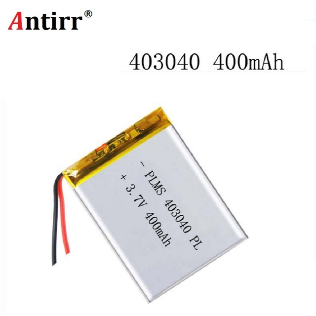 Free shipping 3.7V lithium polymer battery 043040 403040 400mAh MP3 MP4 GPS Bluetooth lithium battery small stereo bluetooth GPS