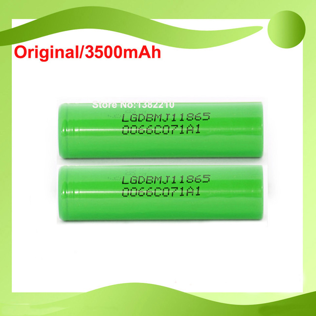 Free shipping!!20PCS/LOT Word Record 18650 3.6V inr18650 MJ1 3500mAh 10A discharge battery for LG mj1