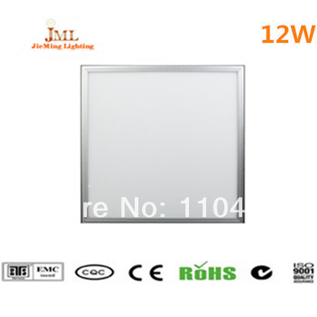 SMD2835 300x300mm LED Panel light Ceiling Lamp 12w AC85-265V LED panel light recessed 1200LM+Power Adapter  10pcs/lot
