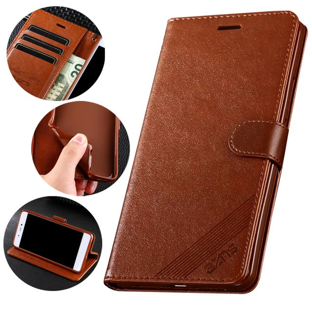 Cases For Huawei Honor 8x 8x max Cover Luxury Flip Wallet Magnetic Vintage Leather Phone Bags  For Huawei Honor 8x max Card Slot