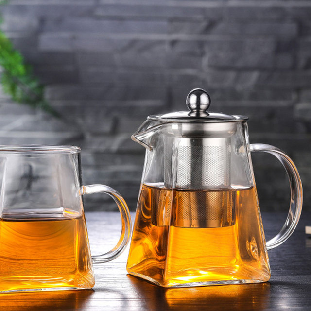 Kettle Glass Drinks Economic Teapot Kitchen Heat Resistant Tea Pot Drop Shipping