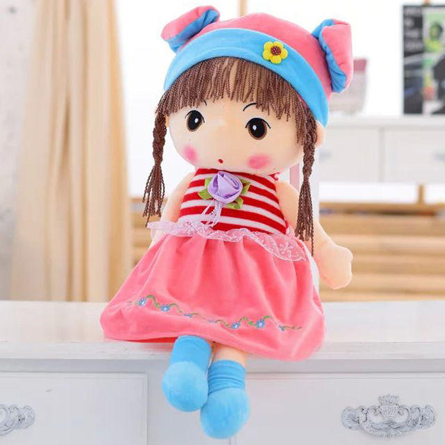 1pc 40cm Creative Plush Doll,Phyl Plush Toy,Stuffed Doll ,Kawaii Toy Cartoon Doll For Girl,Kid Toy Christmas Gift