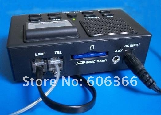 FREE SHIPPING/NEW/10PIECES/LOTS/Telephone recording box,SD card recorder by DHL/EMS