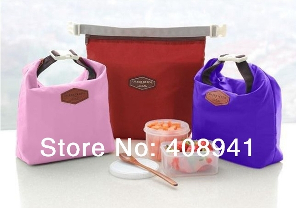 Free Shipping+Wholesale Fashion lunch box bag lunch bag thermal bag thermostated bags,200pcs/lot