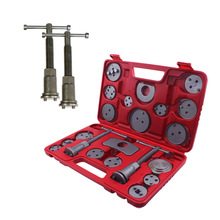 21pcs Universal Car Disc Brake Caliper Rewind Back Brake Piston Compressor Tool Kit Set For Automobiles Garage Repair Tool DN173