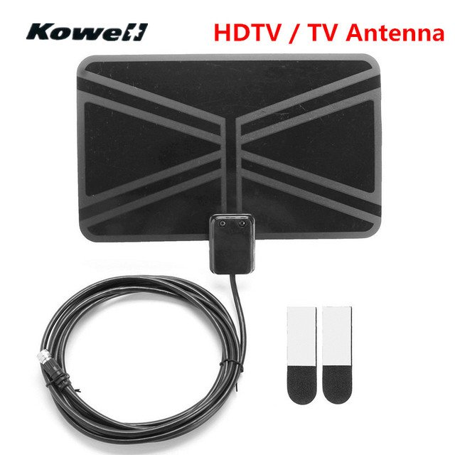 HD TV Fox HDTV DTV VHF Scout Style TVFox Cable Super Antenna Aerials Amplifier Digital TV Signal Reception Amplified Television