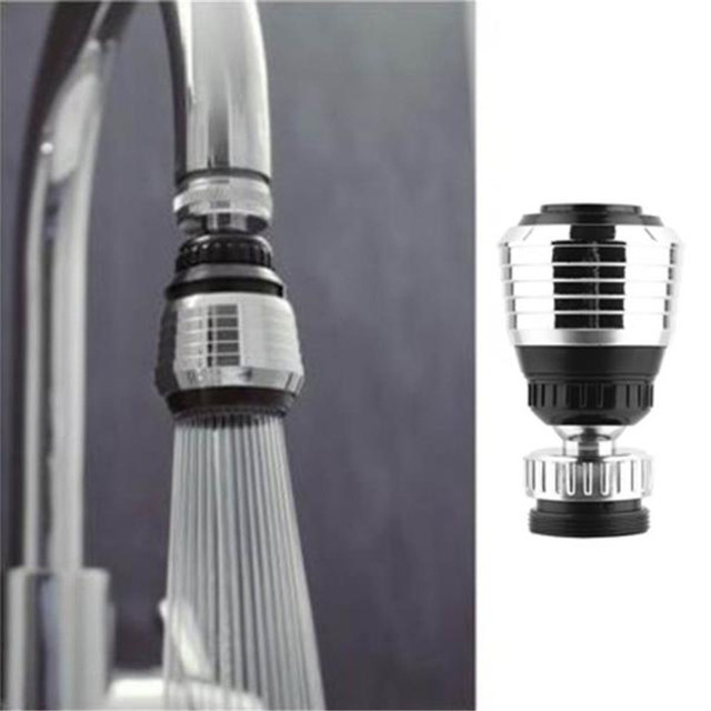 360 Rotate Swivel Faucet Nozzle Torneira Water Adapter Water Purifier Saving Tap Diffuser Kitchen @