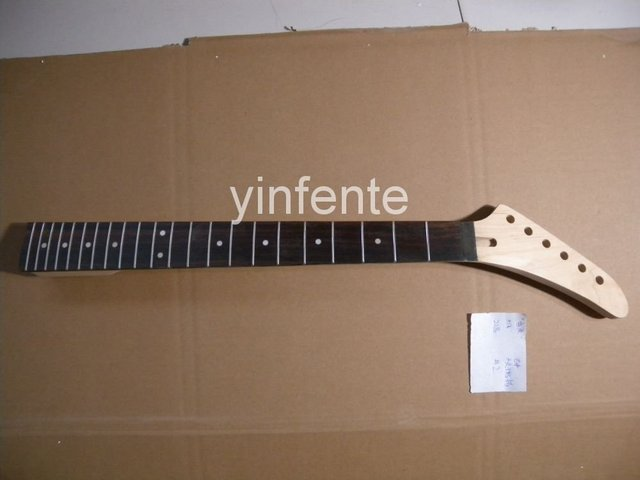 New High Quality Unfinished electric guitar neck Solid wood Body &  fingerboard   model 1pcs #2