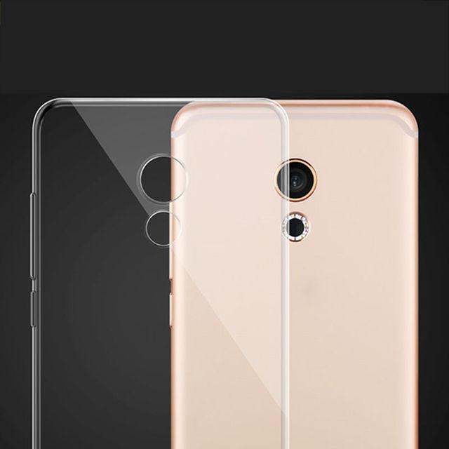 For Meizu Meilan 5 M5 Transparent Cover f Silicone Case