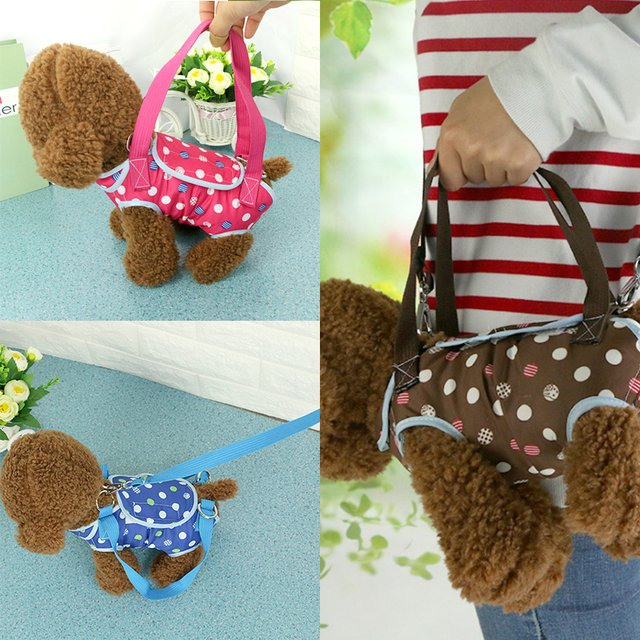Portable Pet Dog Carrier Bag With Leash Breathable Outdoor Travel Products