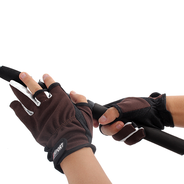 HOT Skidproof Fishing Gloves Anti Slip Fishing Rod Tackle Gloves Outdoor Sports Newest New