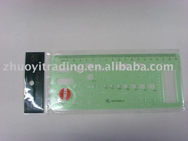 5301 graphics template ruler  , wholesale and retail