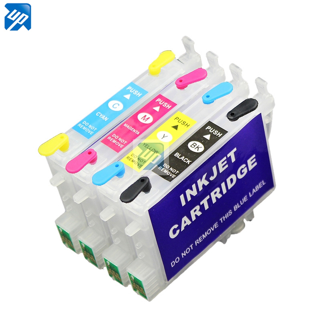 t0601 601  refillable ink Cartridge for epson CX3800 CX3810 CX4200 CX4800 C68 C88 CX5800F CX7800 printer with auto reset chip