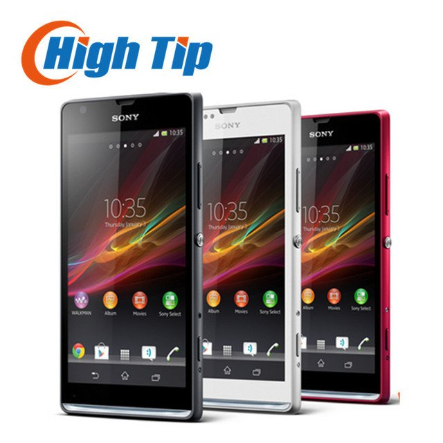 FREE Gift Original Unlocked Sony Xperia SP M35h C5303 Android 4.1 Dual-core 4.6 inches 8 MP WIFI Refurbished Cell Phone