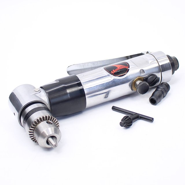 """YOUSAILING Quality 3/8"""" Elbow Right Angle Pneumatic / Air Drill Tool"""
