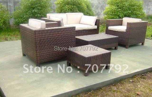 Hot sale SG-0041 Elegant synthetic rattan patio furniture