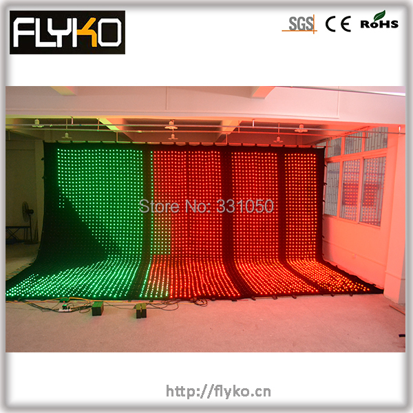 Brightness effect decoration led video screen