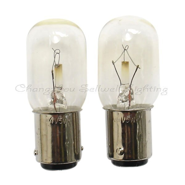 New!miniature Bulbs Lighting Ba15d 20x48 24v 5w A314